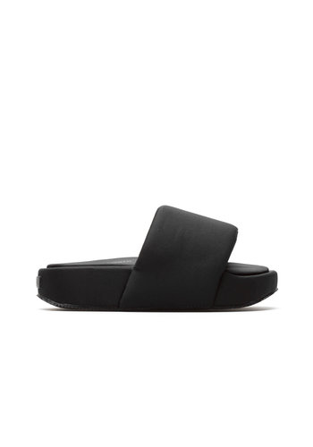 Y-3 black sliders