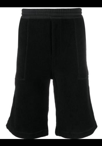 Y-3 swim towelling resort shorts black