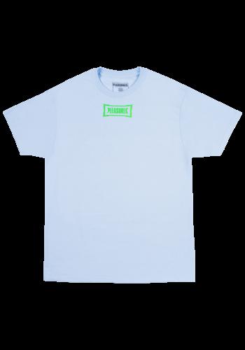 PLEASURES liberation t-shirt powder blue