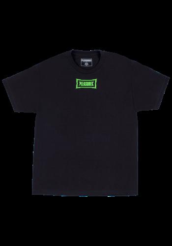 PLEASURES liberation t-shirt black