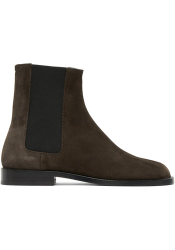 MAISON MARGIELA tabi advocate boot suede brown
