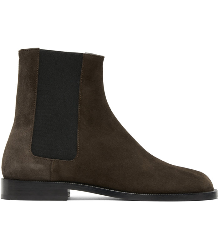TABI ADVOCATE BOOT SUEDE BROWN