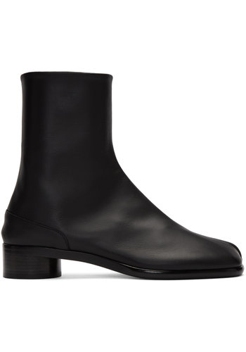 MAISON MARGIELA tabi boot black leather
