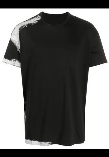 MAISON MARGIELA black t-shirt white paint