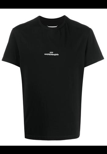 MAISON MARGIELA upside down logo t-shirt black