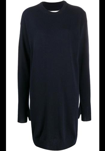 MAISON MARGIELA knitwear dress navy