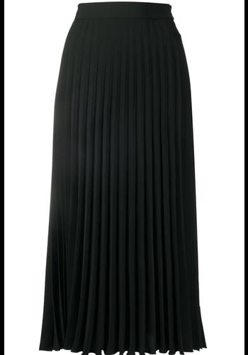 MM6 MAISON MARGIELA plissé skirt black