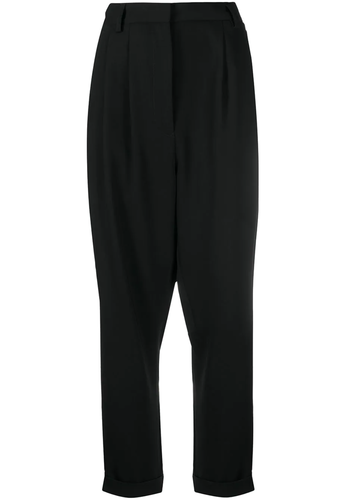 MM6 MAISON MARGIELA rolled up pants black