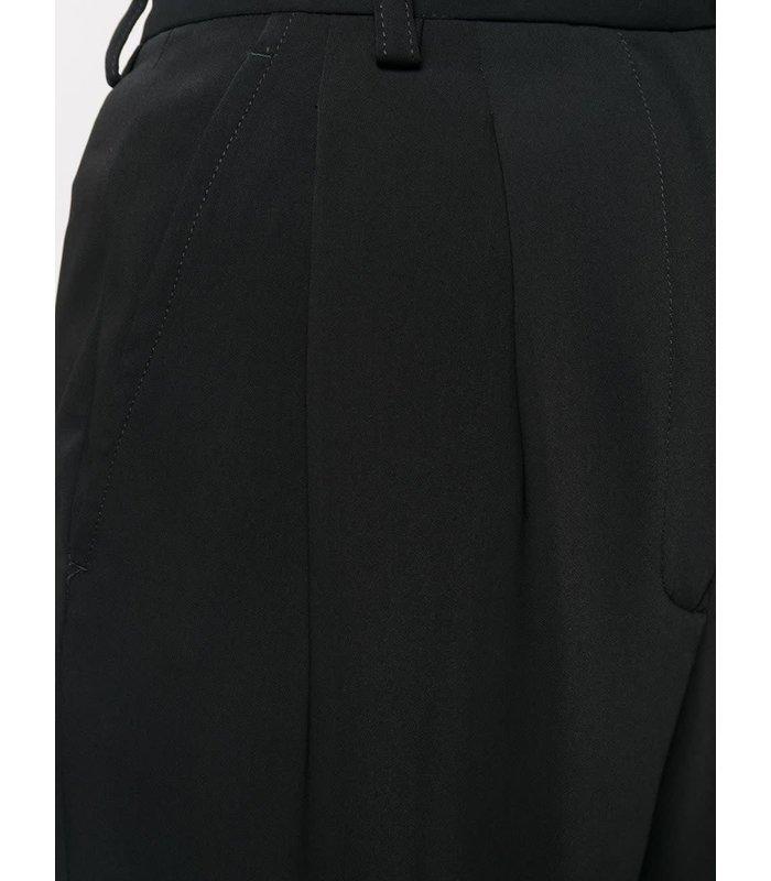 ROLLED UP PANTS BLACK