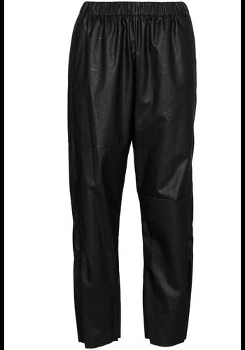 MM6 MAISON MARGIELA vegan leather black pants