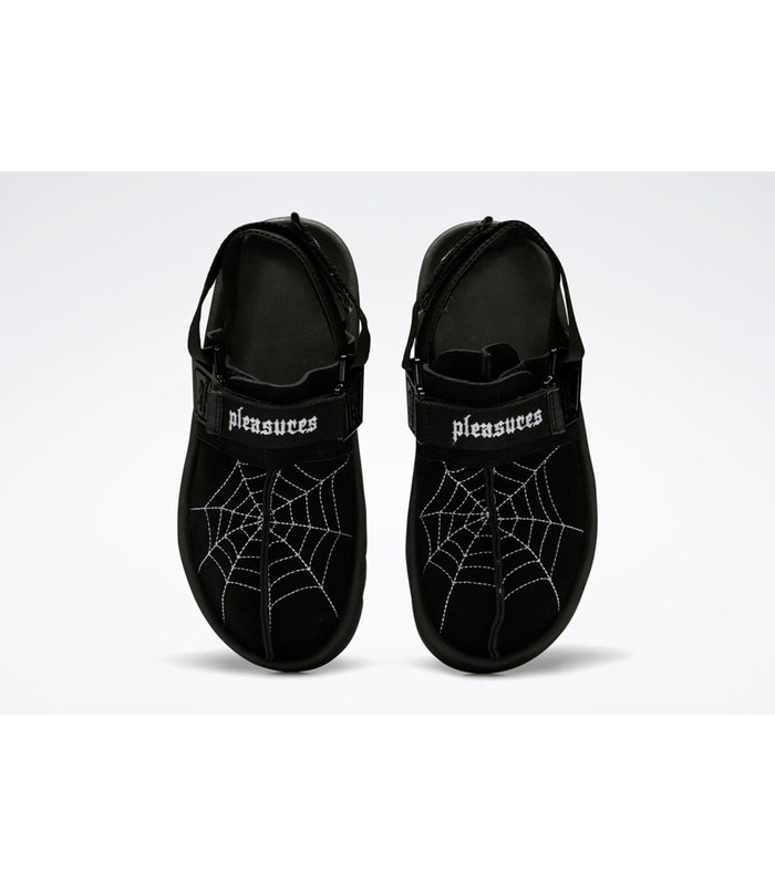 REEBOK X PLEASURES BEATNIK BLACK SPIDERWEB