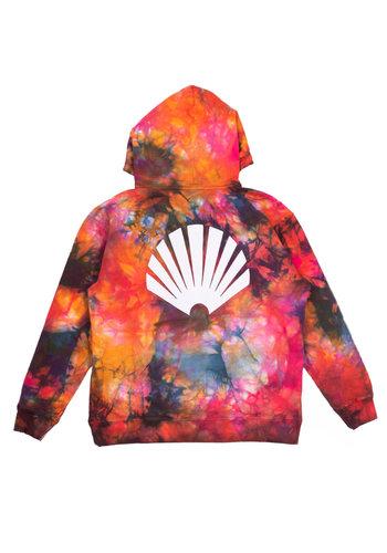 NEW AMSTERDAM SURFASSOCIATION logo hoodie tie dye oil