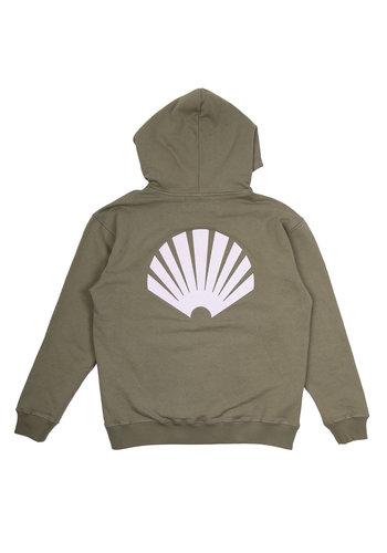 NEW AMSTERDAM SURFASSOCIATION logo hoodie aloe