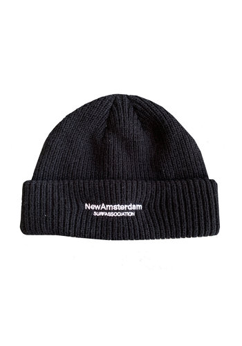NEW AMSTERDAM SURFASSOCIATION beanie black