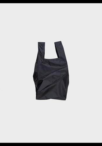 SUSAN BIJL shopping bag black & black s