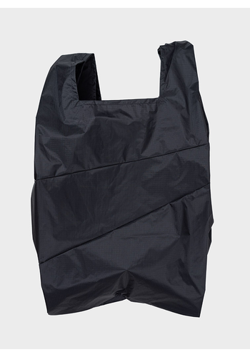 SUSAN BIJL shopping bag black & black l
