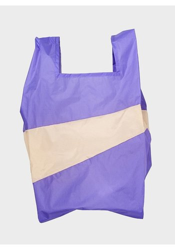 SUSAN BIJL shopping bag lilac & cees l