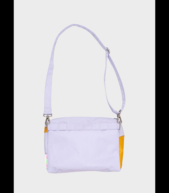 bum bag lavender & moutarde M