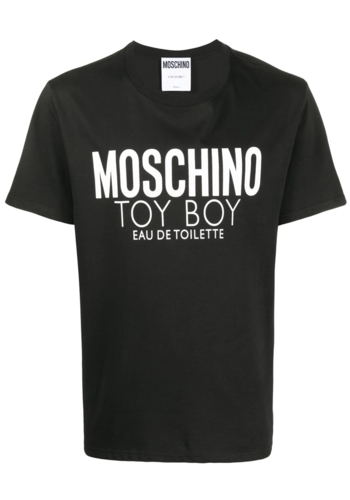 MOSCHINO toy boy perfume t-shirt black