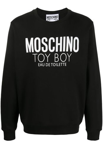 MOSCHINO toy boy perfume sweater