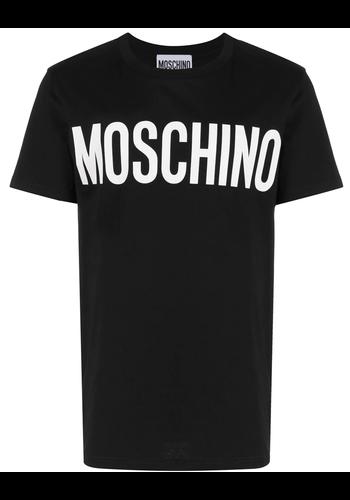 MOSCHINO logo t-shirt black