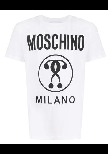 MOSCHINO questionmark t-shirt white