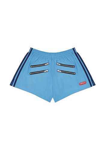 ADIDAS adidas x lotta volkova podium zip shorts light blue
