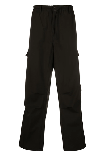Y-3 classic winter wool pants black