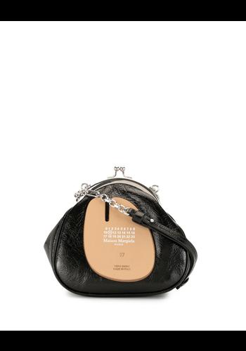 MAISON MARGIELA tabi  frame bag black