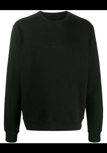 MAISON MARGIELA upside down logo sweater black