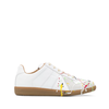 MAISON MARGIELA REPLICA SNEAKERS PAINTING WHITE