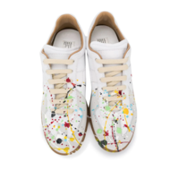REPLICA SNEAKERS PAINTING WHITE