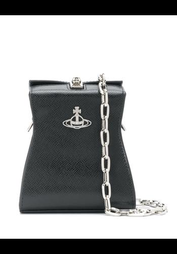 VIVIENNE WESTWOOD kelly mini crossbag black