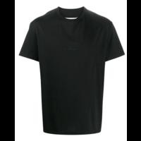 UPSIDE DOWN LOGO T-SHIRT BLACK