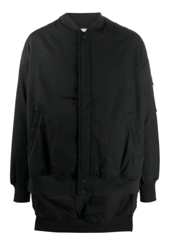 Y-3 gfx bomber jacket black