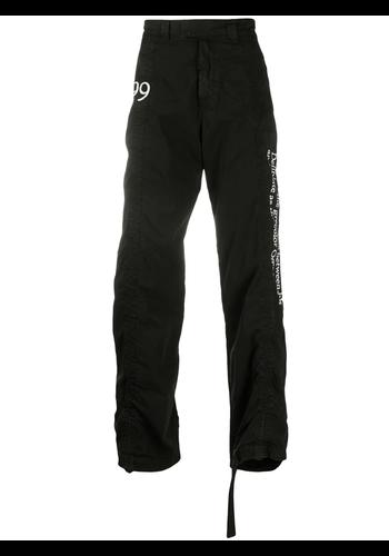 OFF-WHITE 1999 contour cargo pant black white