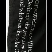 1999 CONTOUR CARGO PANT BLACK WHITE