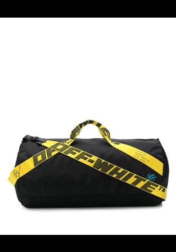 OFF-WHITE nylon duffle bag black no color