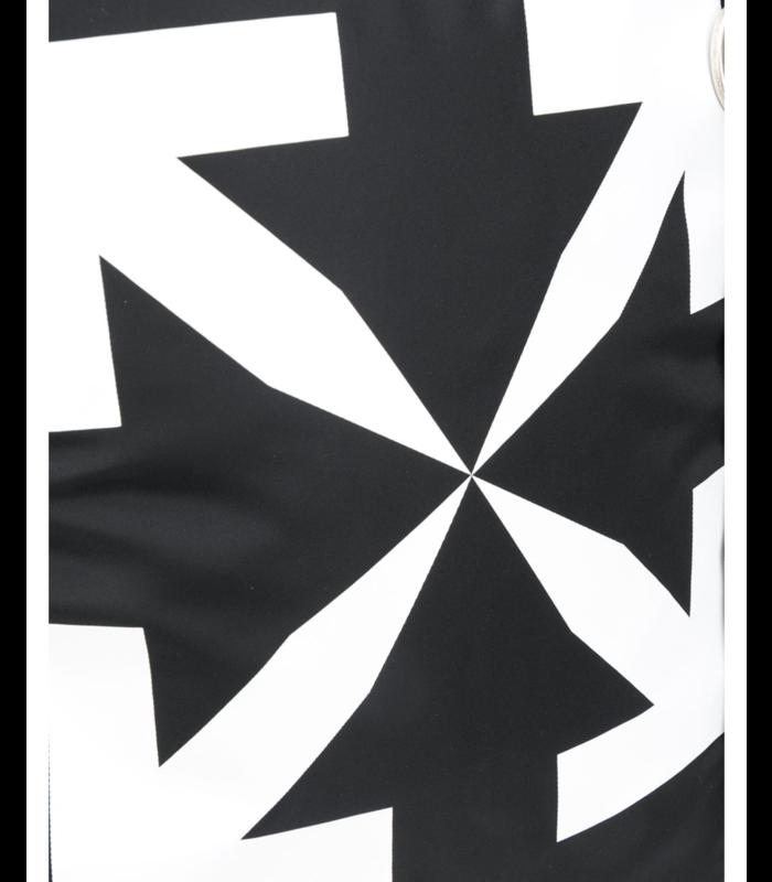 ARROWS EASY BACKPACK BLACK WHITE