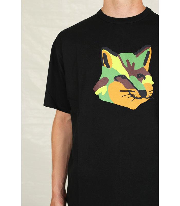 OVERIZED TEE-SHIRT NEON FOX PRINT