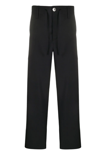 LANVIN drawstring pants navy blue