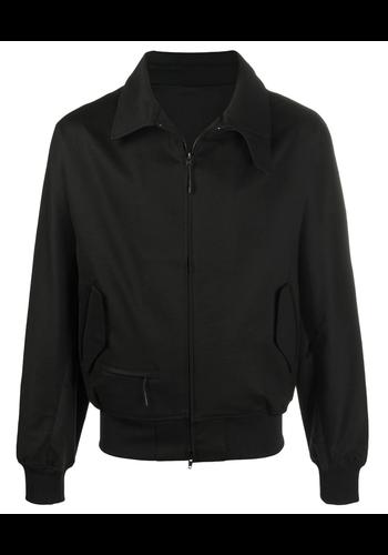 Y-3 classic sporty ponti harrington jacket black