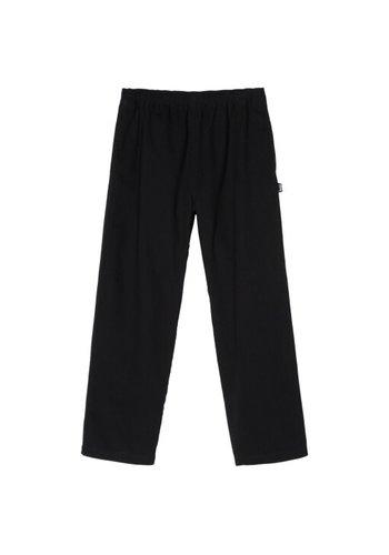 STUSSY brushed beach pant black