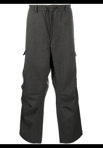 Y-3 classic winter wool pants charcoal
