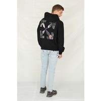 CARAVAGGIO ANGEL OVER HOODIE BLACK BLACK
