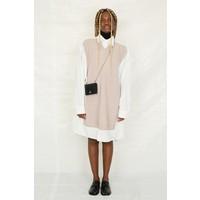 KNITWEAR DRESS WHITE POWDER