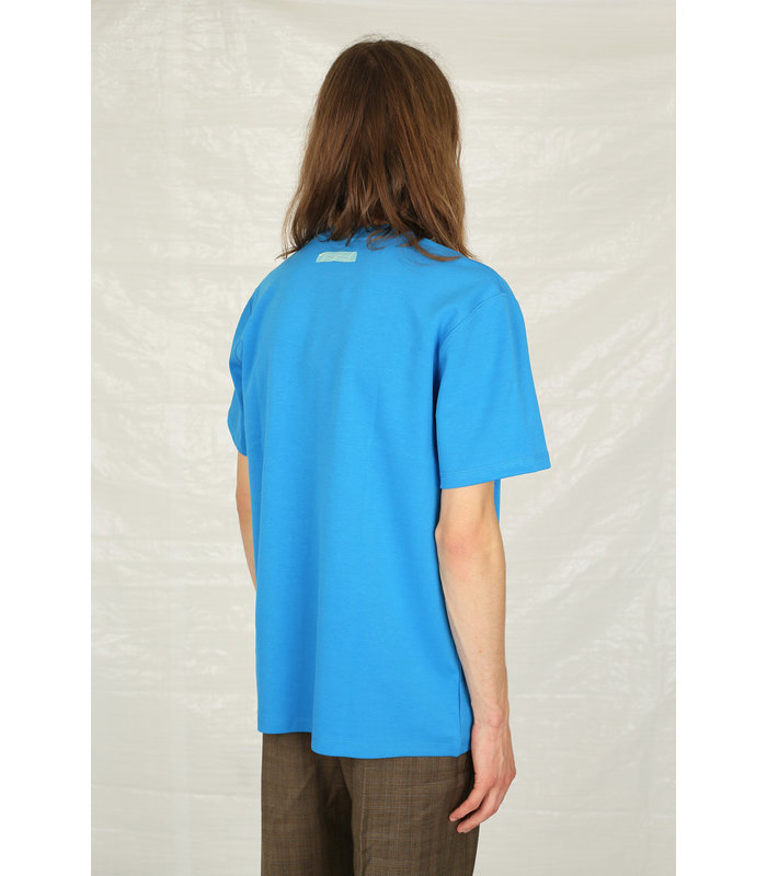 T-SHIRT EMBROIDERED SKY BLUE