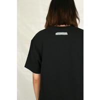 T-SHIRT FRONT PRINT BLACK