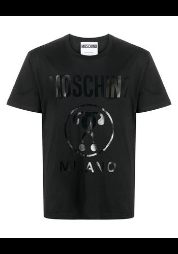 MOSCHINO t-shirt question mark black