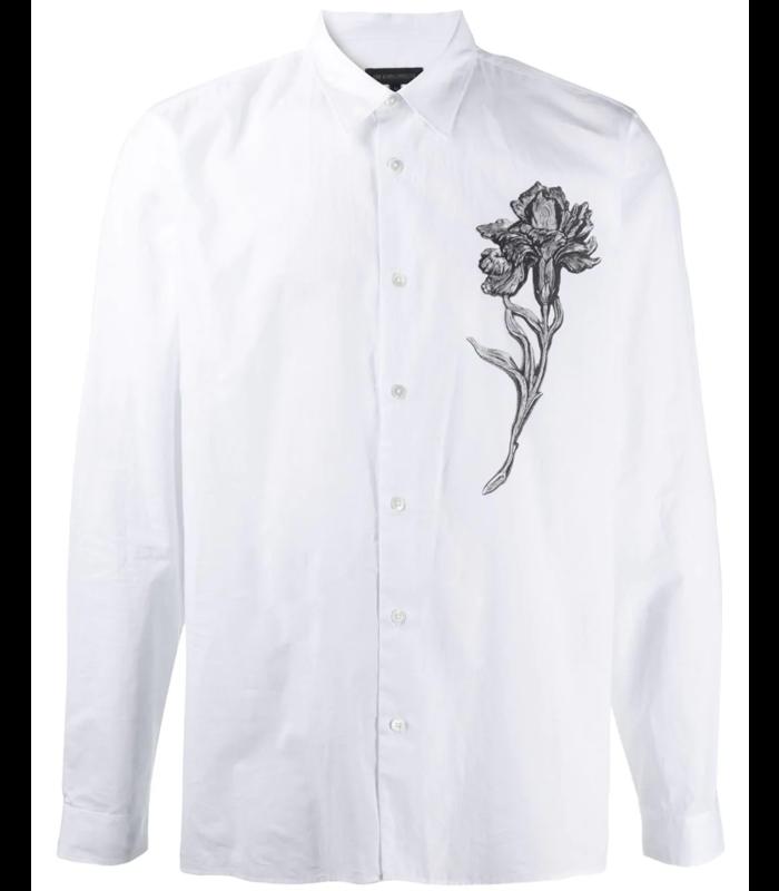 "SHIRT COTONE WHITE + PRINT ""FLOWER"""